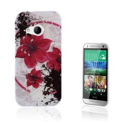 Westergaard (Röda blommor) HTC One Mini 2 Skal