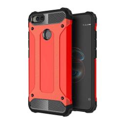 Xiaomi Mi A1 Hybird skal med förstärkta hörn - Röd