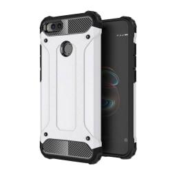 Xiaomi Mi A1 Hybird skal med förstärkta hörn - Vit