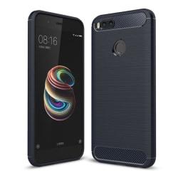 Xiaomi Mi A1 Karbon fiber designat skal - Blå