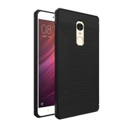 Xiaomi Redmi Note 4 Enfärgat silikon skal - Svart