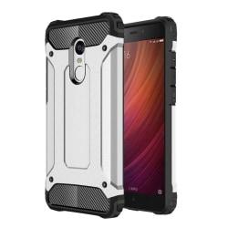 Xiaomi Redmi Note 4 Hybird skal med förstärkta hörn - Silver
