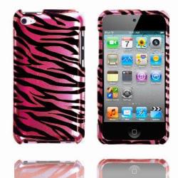 Zebra Snap-On (Rosa) iPod Touch 4 Skal