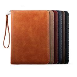 Läderfodral till iPad mini 4/5 Marinblå