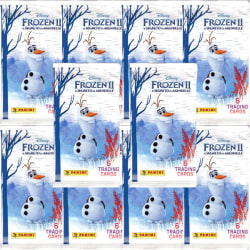 10 Paket - Panini Frozen II / Frost 2 Trading Cards (2019)