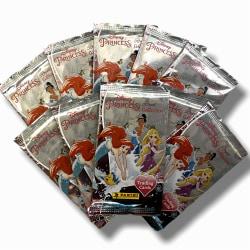 Disney Princess Samlarkort 10 paket booster