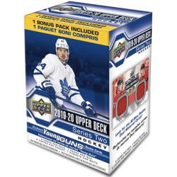 Hockeykort NHL Blasterbox 2019-20 Upper Deck Series 2 (56 kort)