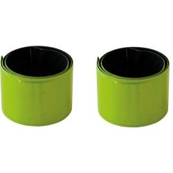 2-Pack Slapwrap - Reflexband Gul
