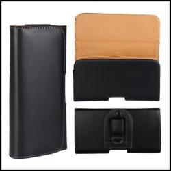 Bältesväska Samsung Galaxy S8 plus mobilväska bältesclip Svart