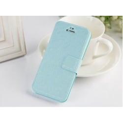 Fodral slim silk iPhone 5/5s/SE ljusblå turkos Turkos