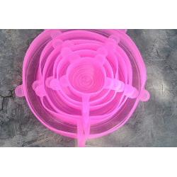 Silikonlock 6- pack Rosa