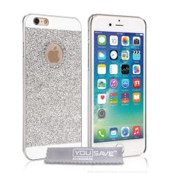 iPhone 6/6s Diamantskal silver silver