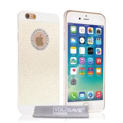 iPhone 6/6s Diamond case vit vit