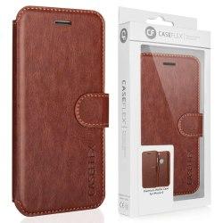 iPhone 6/6s Plånboksfodral brunt