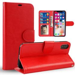 Samsung Galaxy A40 Plånboksfodral röd
