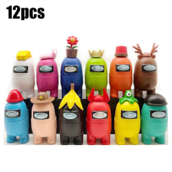 12PCS Second Generation Among Us Children Figure Kids Toys Gift Second generation 12pcs