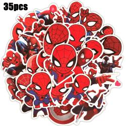 35st Hot Spiderman Klistermärken Laptop-dekaler