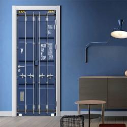 3D Door Wall Sticker Simulation Door Art Stickers Home Decor New 38.5*200cm