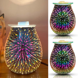 3D Glass Aromatherapy Lamp LED Home Room Decoration Gifts