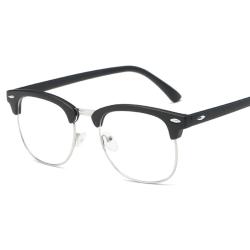Unisex Blue Light Blocking Gaming Glasses UV-filterglasögon Black 1pair