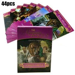 44pcs Romance Angel Oracle Cards Tarot Game Card Set Gift Toy