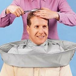 Barber Gown Cloth Hair Cutting Cape Cloak Umbrella