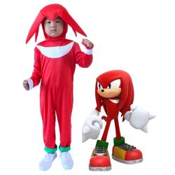 Boys Girl Kids Sonic The Hedgehog Cosplay Costume Fancy Dress 3-4Y