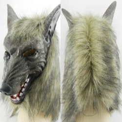 Carnival Halloween Party Creepy Wolf Head Mask 24cm*33cm