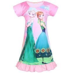 Children Kid Girl Frozen Aisha Anna Princess Nightdress pink 100cm