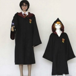 Kids Adults Masquerade Cosplay Costume Harry Potter Series Cloak Adults red L