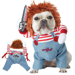 Deadly Halloween Scary Dog Costumes Funny Pet Cosplay Party M