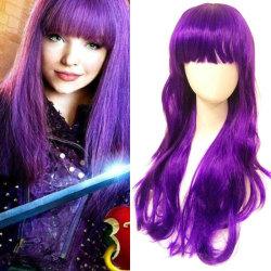 Descendants 2 Starlight Successor Mal Wig Cosplay Womens Hair
