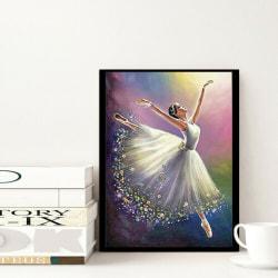 DIY 5D Ballerina Diamond Painting 30*40cm Full Diamond Decor