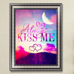 DIY 5D Diamond Painting Love Words Letter Embroidery Home Decor