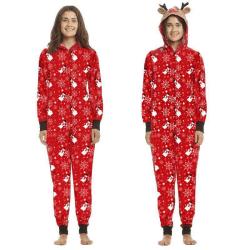Family Loungewear Outfits Kids Baby Christmas Pajamas Sleepwear Mom L