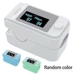 Fingertip Pulse Blood Saturation Finger Monitor Heart Random Color