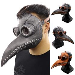 Halloween Horror Props Mask Cosplay Punk Plague Grey