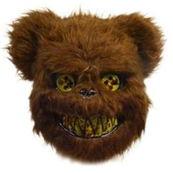 Halloween Mask Bloody Killer Rabbit Bear Mask Brown