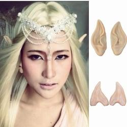 Halloween Party Fariy Elf Ears Accessories Latex Long Ears