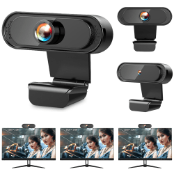 HD Web Cam Camera PC Desktop Laptops Computers Office USB 2.0 Ling Yang 720p