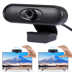 HD Webcam Web Cam Camera Desktop Computer Office Work USB 2.0 Ling Yang 720p