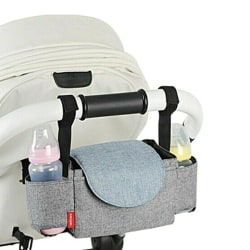 Hot Selling Practical And Convenient Stroller Storage Bag grey