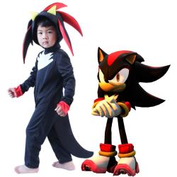 Kids Boy Girls Sonic The Hedgehog Cosplay Costume Fancy Dress 5-7Y