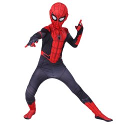 Kids Boys Spiderman Costume Fancy Dress Cosplay Party Halloween red 110