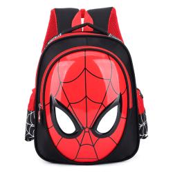Barn Barn Pojkar Spiderman Ryggsäck Skolboksväska