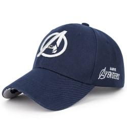 Marvel The Avengers Unisex Casual Baseball Sun Visor Sport Hat navy blue B