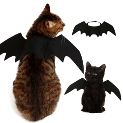 Pets Bat Halloween Vampire Dress Outfit Wing Dog Cat Dress Party