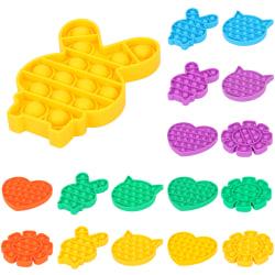 Pop it Fidget Toy Bubble Sensory Fidget Family Toy purple Love
