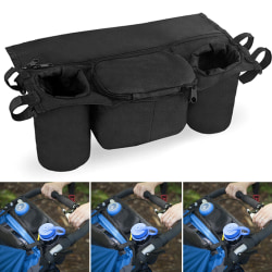 Practical Multifunctional Baby Stroller Hanging Bag black