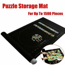 Puzzle Mates Porta 1500 Piece Jigsaw Board Förvaring Mat Case Black